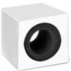 Cubos plástico p/microfone 63X63X52 mm - AE.00339