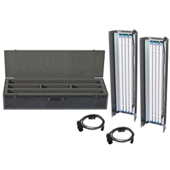 Filmgear LED Flo Box 4Bank 4ft Twin Kit-Daylight Tube