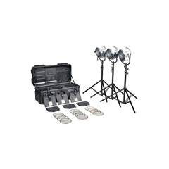 Filmgear Tungsteen Fresnel  650W Junior 3 Kit-220V - FG.00169