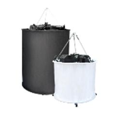 Filmgear 2kW Space Light SET(w/black and white skirts) - FG.00153