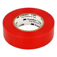 Fita isoladora Vermelha 20mx19mm - AE.01107