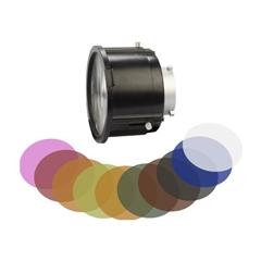 SWIT BA-F3X Bowens Mount Fresnel 12-40° 3x Lens W/10x filter - SW.00378