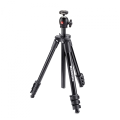 Manfrotto MKCOMPACTLT-BK Compact tripod with ball head - MF.00670