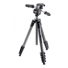 Manfrotto MKCOMPACTADV-BK Compact Advanced with 3-way head - MF.00672