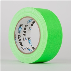Le Mark Pro Tapes Pro Gaff Fluorescent 24mmx22.8mt Verde - AE.02365