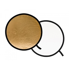 LL LR4841 Collapsible Reflector 1.2m Gold/White - MF.01347
