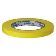 Spike tape para marcar - Amarela 1,25cmx25m - RO.00428