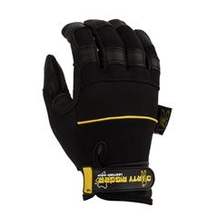 Dirty Rigger - Luvas Leather Grip tam.M