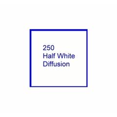 E-COLOUR+250Half White Diffusion 1.22x7.62m - RO.00037