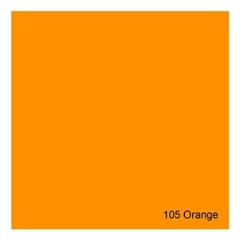 E-COLOUR+105 Orange 1.22x7.62m - RO.00051