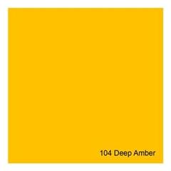E-COLOUR+104 Deep Amber 1.22x7.62m - RO.00050