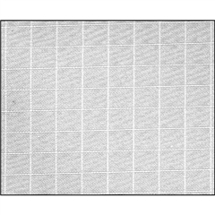 1/4 Grid Cloth - 1.22x7.62m (3034)