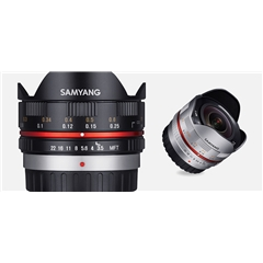 Samyang CSC - 7,5mm F3.5/MFT Black - SM.00027