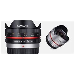 Samyang CSC - 7,5mm F3.5/MFT Black - SM.00027