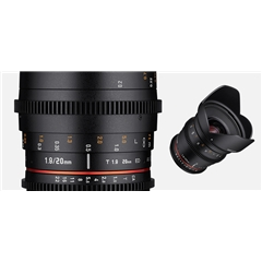 Samyang VDSLR 20mm T1.9 ED AS UMC CSII/MFT - SM.00069