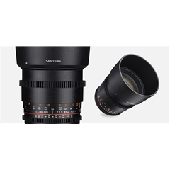 Samyang VDSLR 85mm T1.5 AS IF UMC II/ Nikon F