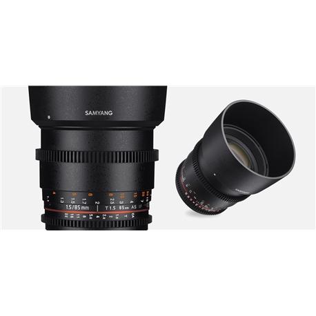 Samyang VDSLR 85mm T1.5 AS IF UMC II/ Nikon F - SM.00086
