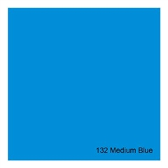 E-COLOUR+132 Medium Blue 1.22x7.62m