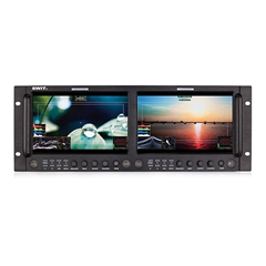 "M-1093F Dual 9"" FHD Waveform Rack LCD Monitor"