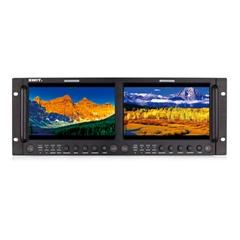 """M-1093H Dual 9"""" FHD Rack LCD Monitor"""