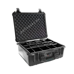 Pelicase Mala 1550 with Padded Dividers