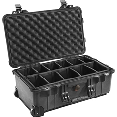 Pelicase Mala 1510 with Padded dividers