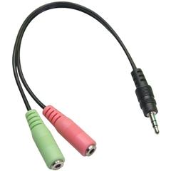 CB-17 3,5mm jack to Headphone/Mic. adapter - DV.00202