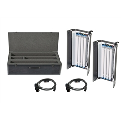 Filmgear LED Flo Box 4Bank 2ft Twin Kit-Daylight Tube