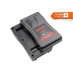 S-8152S 73+73Wh Separable V-mount Battery Pack