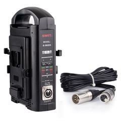S-3822S V-lock Mount Battery Simultaneous Charger/Adaptor