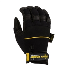 Dirty Rigger - Luvas Leather Grip tam.XL