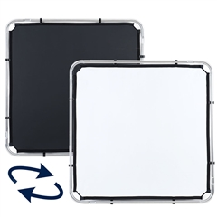 LL LR81121R Skylite Rapid Fabric Small 1.1 x 1.1m Black/Whit