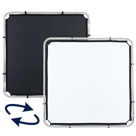 LL LR81121R Skylite Rapid Fabric Small 1.1 x 1.1m Black/Whit - MF.00308
