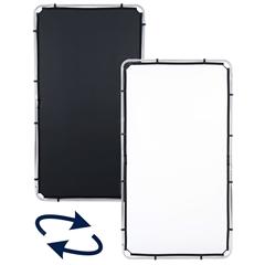 LL LR81221R Skylite Rapid Fabric Medium 1.1 x 2m Black/White