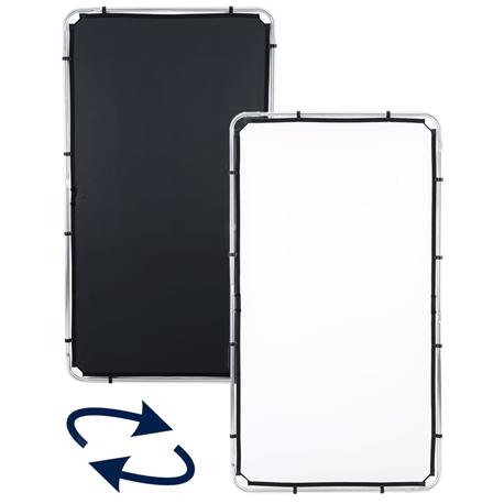 LL LR81221R Skylite Rapid Fabric Medium 1.1 x 2m Black/White - MF.00310