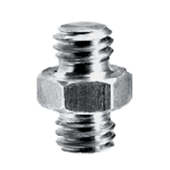 "Manfrotto 125 SHORT ADAPTER SPIGOT 3/8""+3/8"""