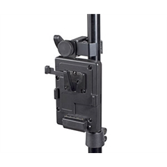 S-7200S V-Mount battery plate with clamp for tripod mount