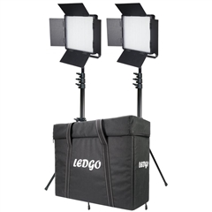 LEDGO LG-600CSCII 2 KIT +T LED Studio Light - LD.00011