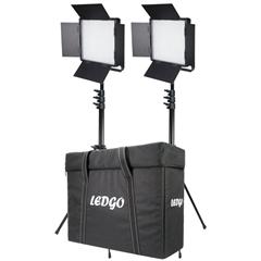 LEDGO LG-600CSCII 2 KIT +T LED Studio Light - LD.00011