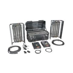Filmgear Flo Box 4Bank 2ft.twin kit complete ABS flight cas - FG.00086