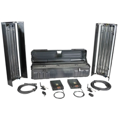 Filmgear Flo Box 4Bank 4ft.twin kit complete ABS flight case - FG.00048