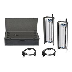 Filmgear LED Flo Box 4Bank 2ft Twin Kit-Daylight Tube - FG.00126