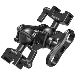 SmallRig 2072B Articulating Arm w/Double Ballheads(Nato Clam - SG.00220