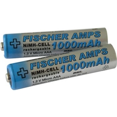 Fischer Amps Micro/AAA NiMH 1000mAh - AE.02067