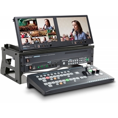 GO-1200-STUDIO 6 Channel HD Portable Video Production Studio
