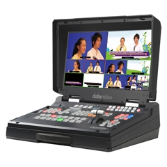 DATAVIDEO HS-1300 6-Ch.HD Portable Video Streaming Studio
