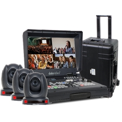 DATAVIDEO BDL-1601 Bundle HS-1600T with PTC-140T Cameras