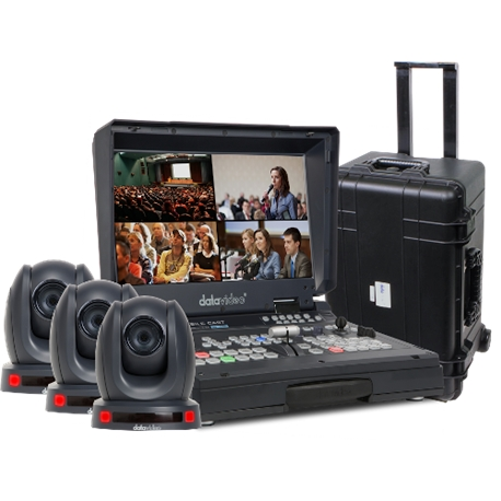 DATAVIDEO BDL-1601 Bundle HS-1600T with PTC-140T Cameras - DV.00380