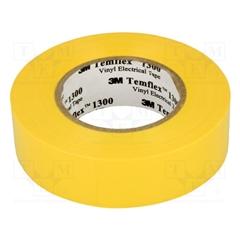 Fita isoladora amarela 20mx19mm - AE.00956