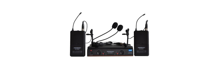 Microfones Wireless